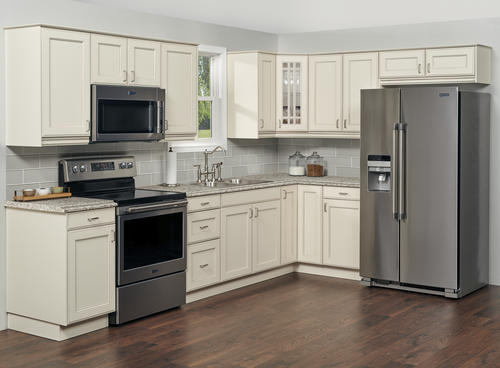 Klearvue L Shaped Kitchen W 10 Cabinet Cabinets Only At Menards