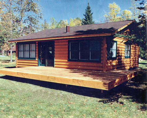 MVL2428 Cabin Log Home at Menards