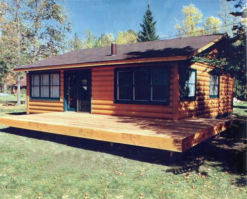 Mvl2428 - Cabin Log Home At Menards®