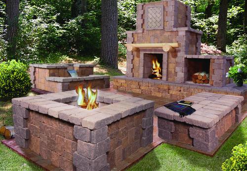 "Kodiak Fire Pit Project Material List 2' 3"" x 5' x 4' 8 ..."