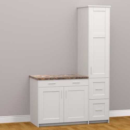 White Kitchen Cabinets At Menards: KLËARVŪE Cabinetry® Small Vanity