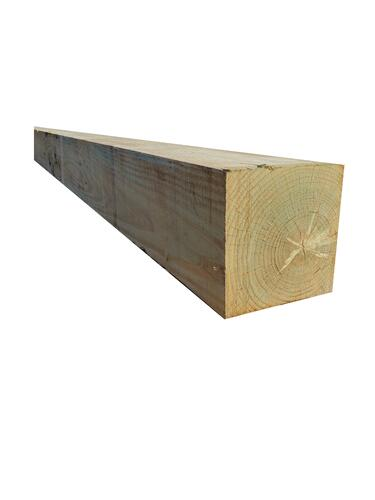 Ac2 8 X 8 Critical Structural Green Pressure Treated Rough Sawn Timber At Menards