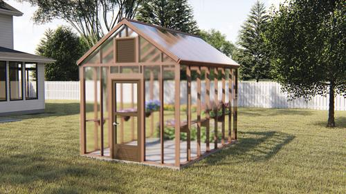 29710 Gilbert Greenhouse 10 W X 14 L X 8 H At Menards