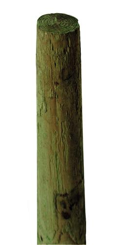 6 X 10 Cca Ground Contact Pressure Treated Round Fence Post At Menards