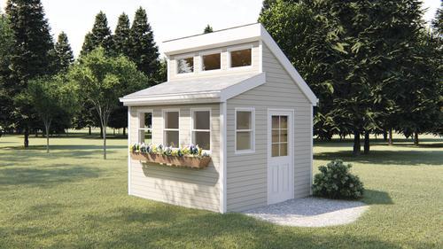 29671 Tilly Garden Shed 10 W X 10 D X 8 H At Menards