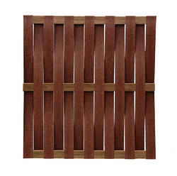 6 X Composite Basket Weave Fence Panel Material List