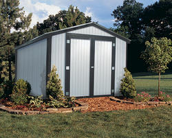 Midwest Manufacturing 174 Ez Build Gable Shed At Menards 174