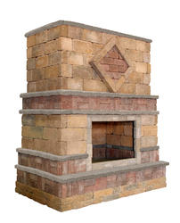 Stupendous Outdoor Fireplaces At Menards Home Interior And Landscaping Ymoonbapapsignezvosmurscom
