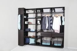 Dakota Closets 101 Quot W X 86 1 2 Quot H Java Wooden Closet