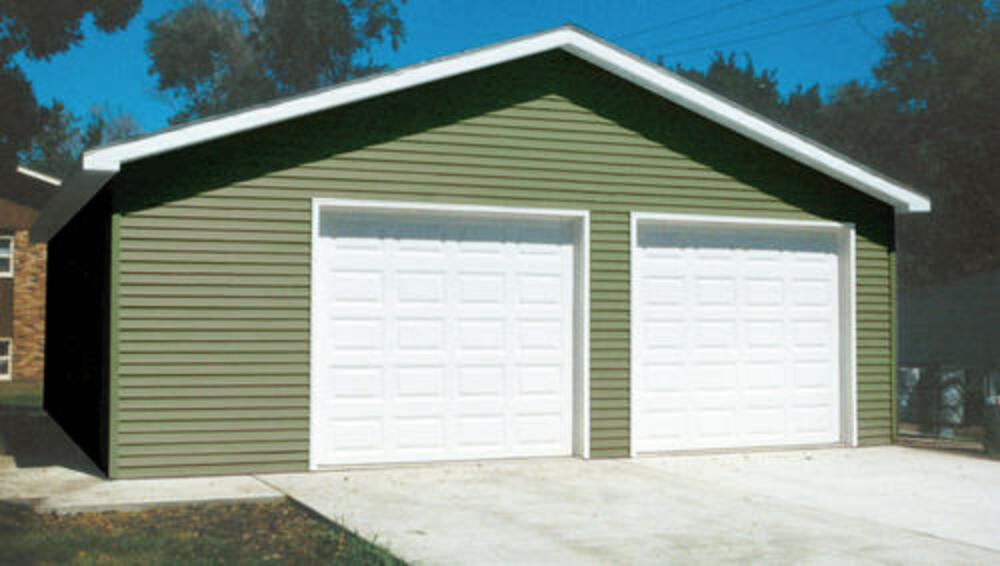2 Car Garage 28 X 28 X 9 Material List At Menards