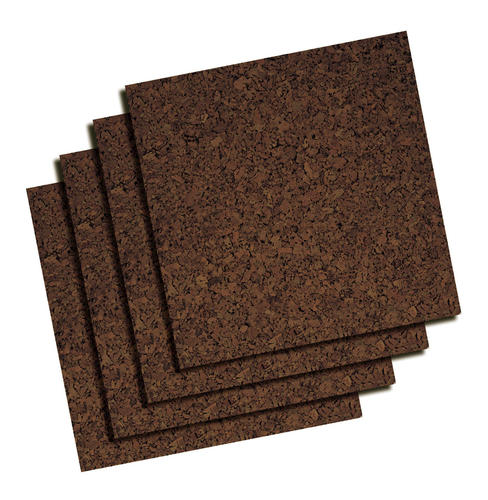 Quartet 12 X 12 Frameless Modular Cork Tiles 4 Pack At Menards