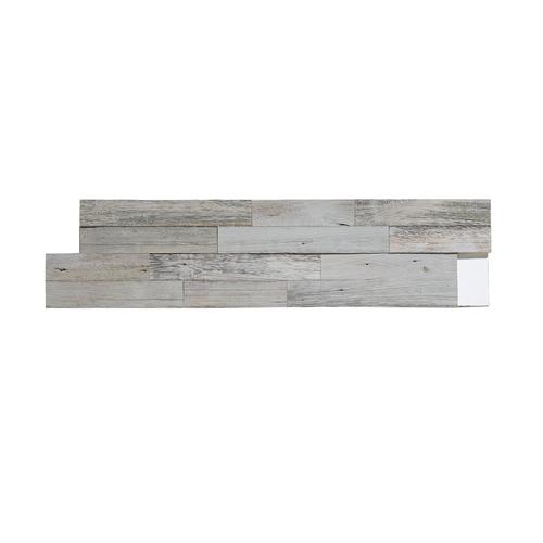"Aspect™ 6.5"" X 24"" Peel And Stick Wood Tile In Weathered"