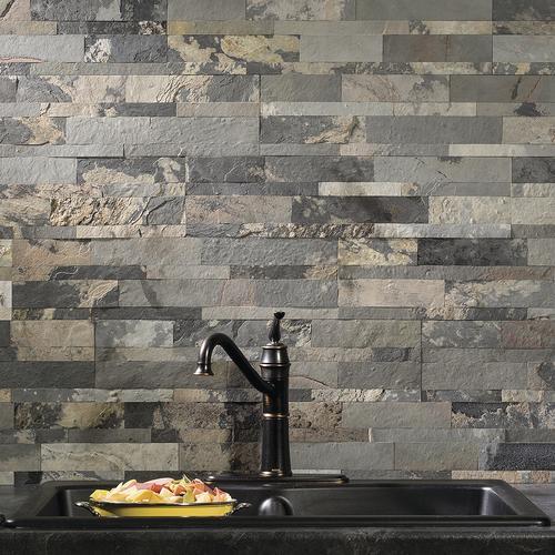 L Stick Stone Backsplash Tiles