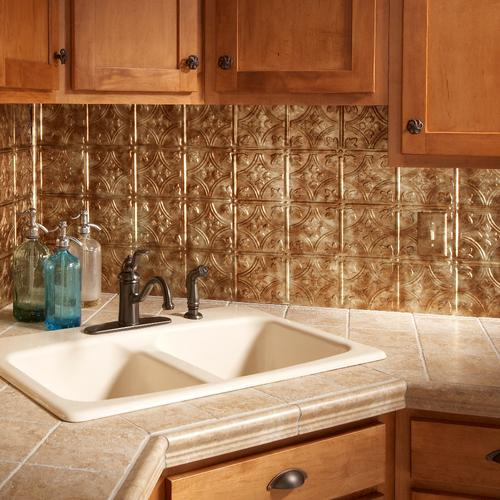 Admirable Fasade Traditional 1 18 X 24 Vinyl Tile Backsplash In Download Free Architecture Designs Salvmadebymaigaardcom