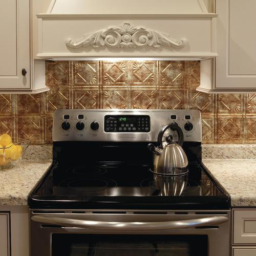 Kitchen Tiles Product: Fasade® 18 Sq. Ft. Backsplash Kit At Menards®