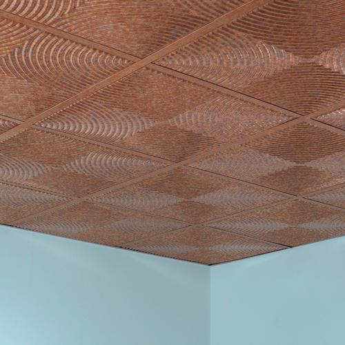Fasade® Echo - 2' x 2' PVC Lay-In Ceiling Tile