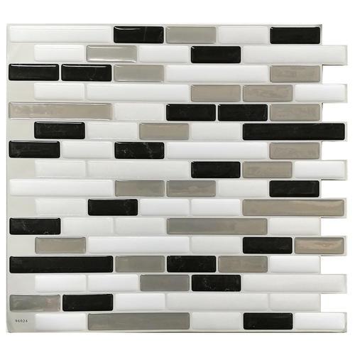 Tack Tile Peel Stick Vinyl Backsplash At Menards