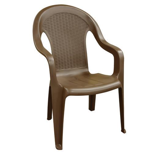 Adams Brown High Back Patio Chair At Menards