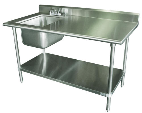Advance Tabco Work Table 16 Gauge Stainless Steel Top 5