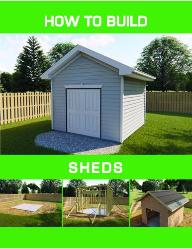 How To Build A Shed Plan Building Plan Only At Menards