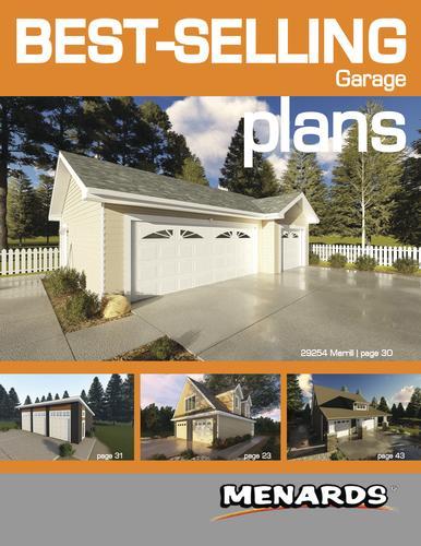 Garage Plans  Book  at Menards