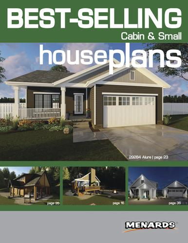 Menards House Plans | Cabin Small House Plans Book At Menards