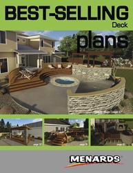 Deck Plans  Book  at Menards