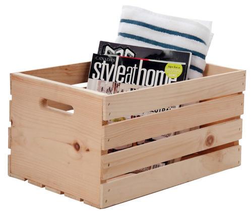 18 Pine Crate At Menards