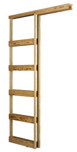 Wood Pocket Door Frame 24\