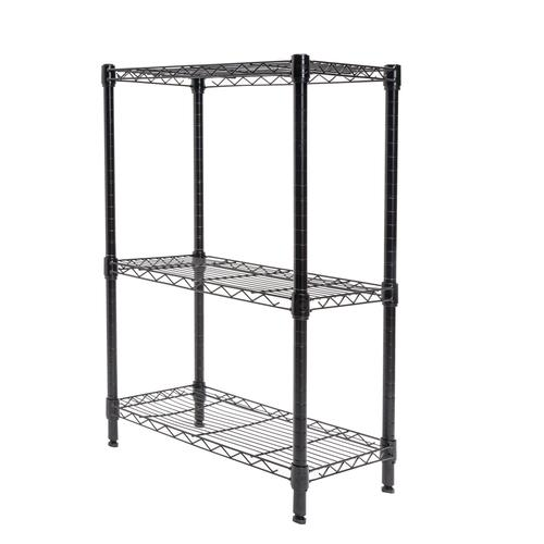 Menards Wire Shelving | Designer S Image 23 W X 32 H X 14 D 3 Shelf Wire Shelving Unit