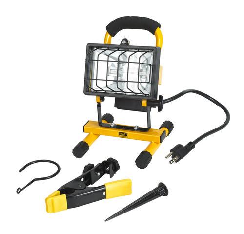 Smart Electrician® 250W Halogen Portable Work Light Kit At