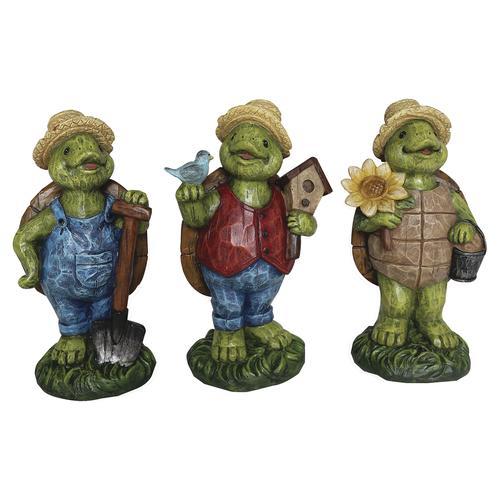 Enchanged Garden Tortoise Lawn Statue Assorted Styles At Menards