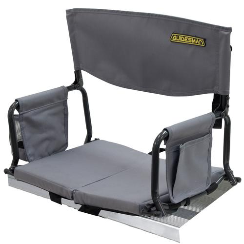Excellent Guidesman Folding Stadium Arm Chair With Cup Holder At Menards Ibusinesslaw Wood Chair Design Ideas Ibusinesslaworg