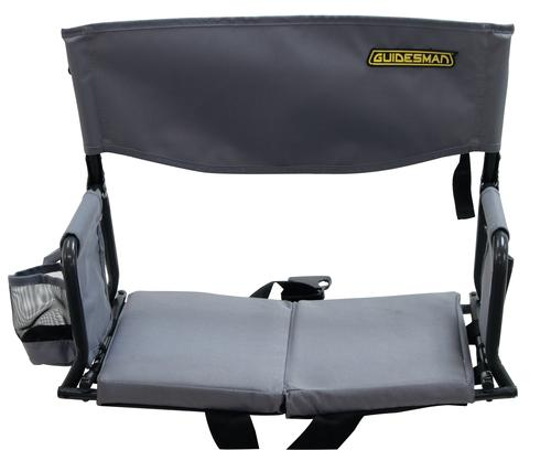 Peachy Guidesman Folding Stadium Arm Chair With Cup Holder At Menards Ibusinesslaw Wood Chair Design Ideas Ibusinesslaworg