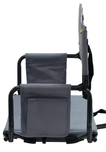 Guidesman 174 Folding Stadium Arm Chair With Cup Holder At