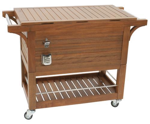 Sterling Home Patio 100 Qt Mahogany Cooler At Menards