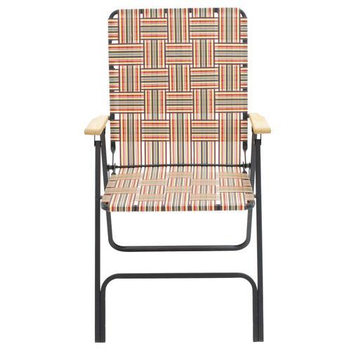 Guidesman Deluxe Web Folding Patio Chair