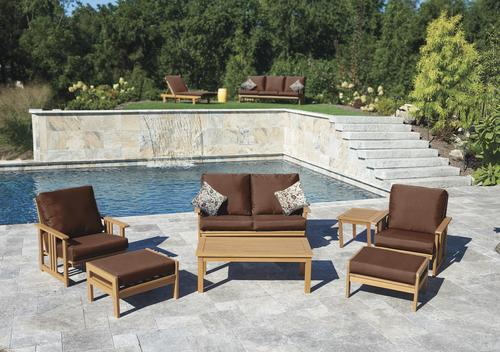 backyard creations bayfield 7 piece seating patio set at menards - Backyard Creations Patio Furniture
