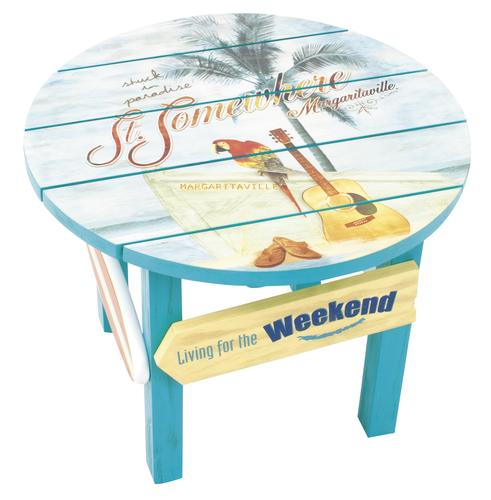 Margaritaville® St. Somewhere Round Side Patio Table At Menards®