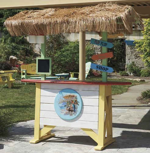 Margaritaville® Surfboard Bar Patio Table At Menards®