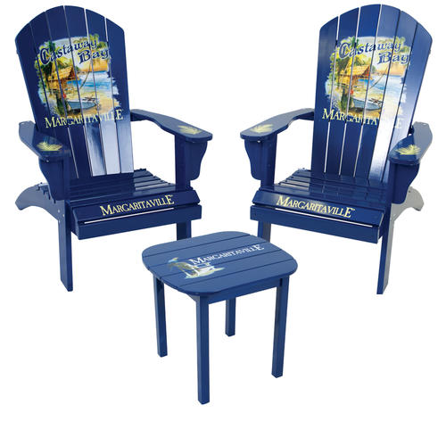 Margaritaville® Castaway Bay 3 Piece Adriondack Patio Set At Menards®