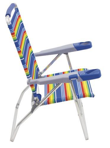 4 Chair Patio Set: Rio Beach 4-Position High-Back Beach Patio Chair At Menards®