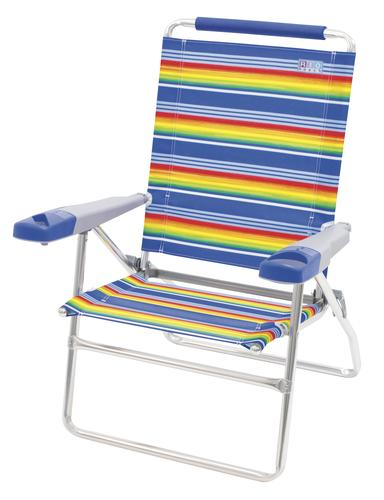 Peachy Rio Beach 4 Position High Back Beach Patio Chair At Menards Home Interior And Landscaping Ferensignezvosmurscom