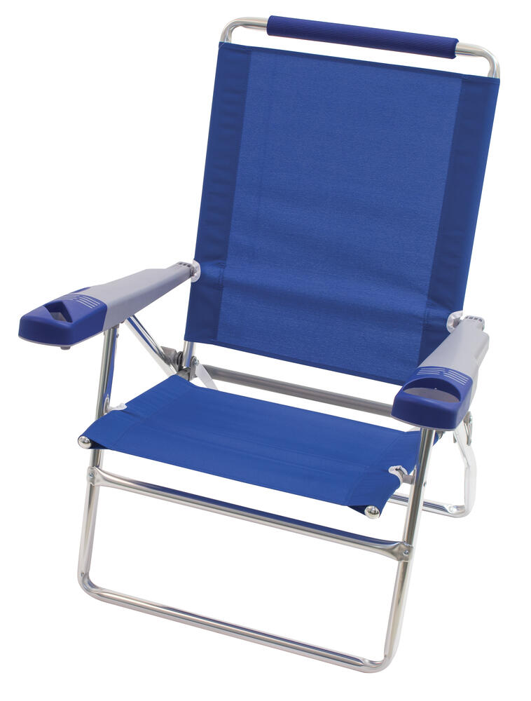 Rio 4 Position High Back Beach Chair Assorted Colors At Menards