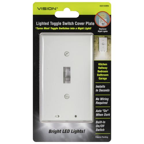 Led Toggle Switch Plate Cover