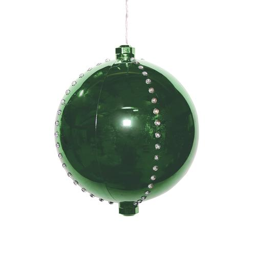 Enchanted Forest 174 6 Quot Led Christmas Ornament Ball