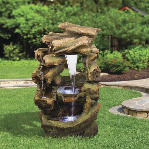 Rainforest Outdoor Water Fountain