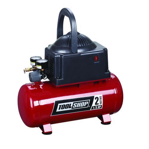 tool shop® 2-gallon portable electric  dog air compressor at menards®