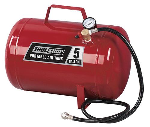 tool shop® 5-gallon portable air tank at menards®
