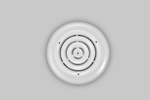Altus Round Ceiling Diffuser White At Menards